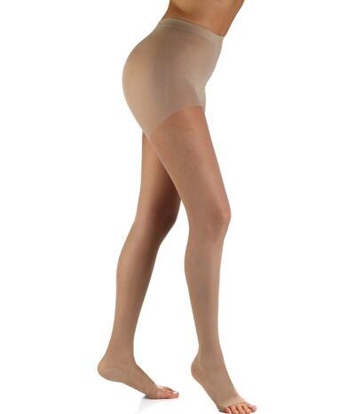 Imagem 1 do produto Meia Calça 15-20 Audace Sigvaris - Natural Ponteira Aberta A