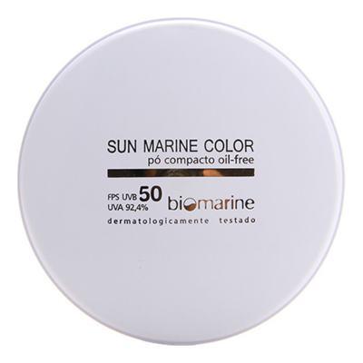 Sun Marine Color Compacto FPS50 Biomarine - Pó Compacto 12g - Natural