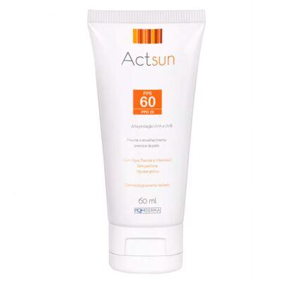 Imagem 2 do produto Protetor Solar Facial Fps60 Actsun - Protetor Solar - 60ml