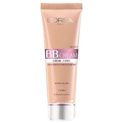 Imagem 1 do produto BB Cream 5 em 1 SPF20 50ml L'oréal Paris - Base - Claro