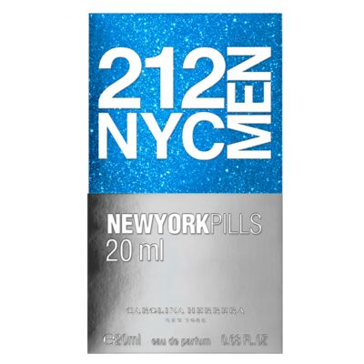 Imagem 3 do produto 212 NYC Men Pills Carolina Herrera - Perfume Masculino - Eau de Toilette - 20ml
