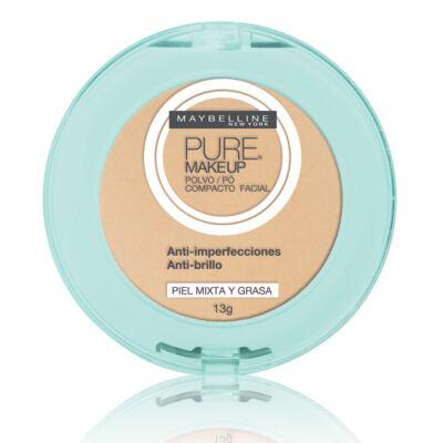 Imagem 1 do produto Pó Compacto Maybelline Pure Makeup Arena Natural 13g