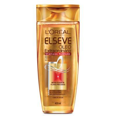 Imagem 2 do produto Kit Elseve Óleo Extraordinário Nutrição Shampoo 400ml + Condicionador 400ml