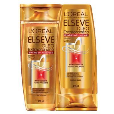 Imagem 1 do produto Kit Shampoo + Condicionador L'Oréal Paris Elseve Óleo Extraordinário Nutrição - Kit