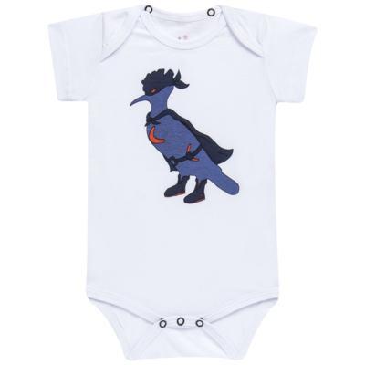 Imagem 2 do produto Body curto c/ Capa para bebe Justiceiro - Reserva Mini - RM23182 MACAQUINHO BB C CAPA PICA PAU JUSTICA-M