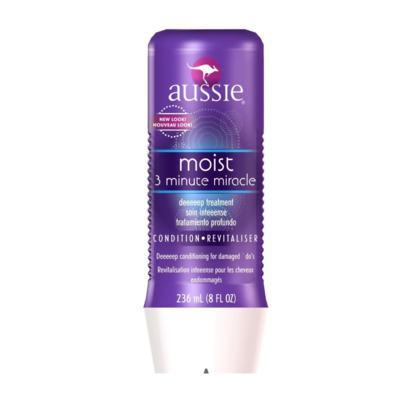 Imagem 3 do produto Kit Shampoo Aussie Smooth 400ml + Tratamento Capilar Aussie Moist 3 Minutos Milagrosos 236ml