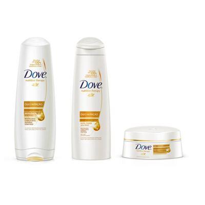 Shampoo e Condicionador Dove Óleo Nutrição + Creme de Tratamento Óleo Nutrição
