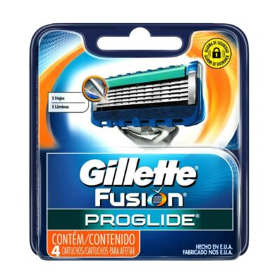 Imagem 3 do produto Kit Gillette Fusion Aparelho de Barbear Proglide Fexball + Carga Proglide 4 Unidades