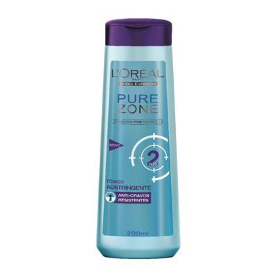 Tônico Adstringente Pure Zone Loréal 200ml
