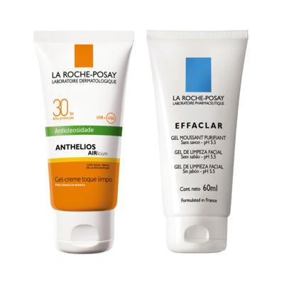 Imagem 1 do produto Protetor Solar Anthelios Fps 30 + Gel de limpeza facial Effaclar