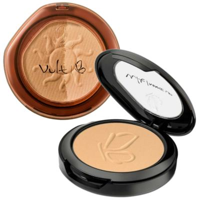 Imagem 1 do produto Kit Vult Pó Compacto Cor 03 9g + Pó Compacto Duo Soleil Cor 02 8g