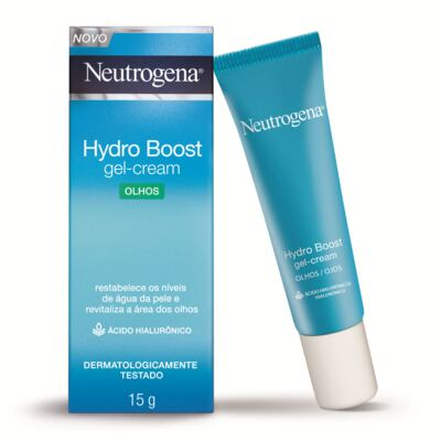 Imagem 3 do produto Kit Neutrogena Hydro Boost Hidratante Facial Water Gel + Gel Creme Hidratante Olhos 15g
