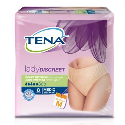 Imagem 2 do produto Compre 2  Roupas Íntimas Absorventes Feminina Tena M + Toalha Umedecida Tena Adulto 40 Unidades