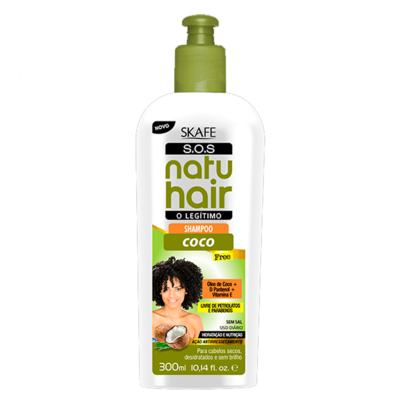 Imagem 1 do produto Skafe Natuhair S.O.S Coco - Shampoo - 300ml