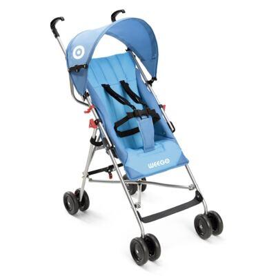 Carrinho de Bebê Guarda-chuva Weego Way Azul