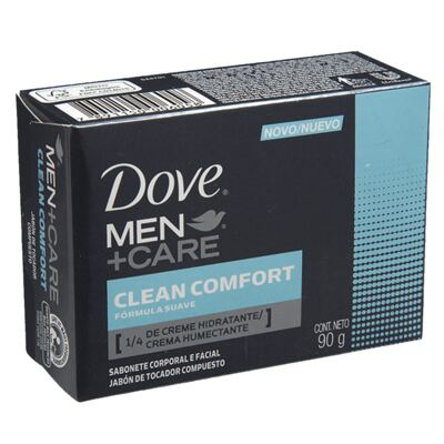 Imagem 3 do produto Kit 3 Sabonetes Dove Original Cremoso 90g + 3 Sabonetes Dove Men Care Comfort 90g