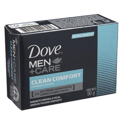 Imagem 3 do produto Kit 3 Sabonetes Dove Original Cremoso 90g + 3 Sabonetes Dove Men Care Comfort 90g