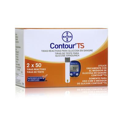 Imagem 1 do produto Contour TS Bayer 100 Tiras