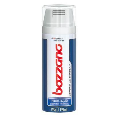 Imagem 2 do produto Kit Bozzano Espuma de Barbear Hidratação 196ml + Aaparelho de Barbear Speed 3