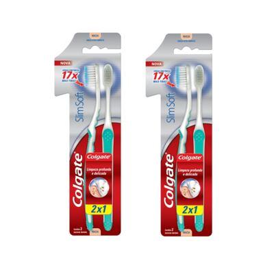 Imagem 1 do produto Escova Colgate Cabo Ultra comprimido Leve 2 Pague 1 - 2 Packs
