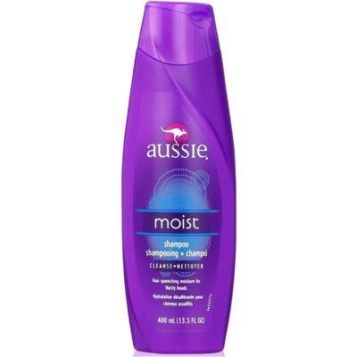 Imagem 2 do produto Kit Shampoo Aussie Moist 400ml + Tratamento Capilar Aussie Shine 3 Minutos Milagrosos 236ml