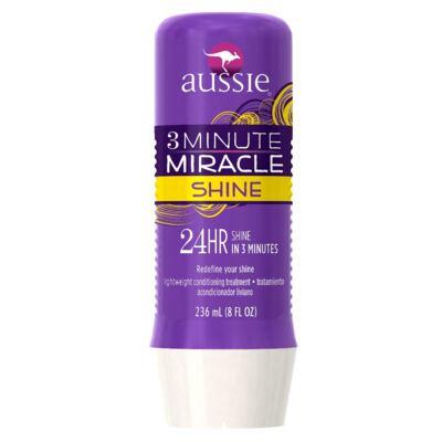 Imagem 3 do produto Kit Shampoo Aussie Moist 400ml + Tratamento Capilar Aussie Shine 3 Minutos Milagrosos 236ml