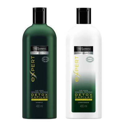 Kit Tresemmé Expert Detox Capilar Shampoo 400ml + Condicionador 400ml