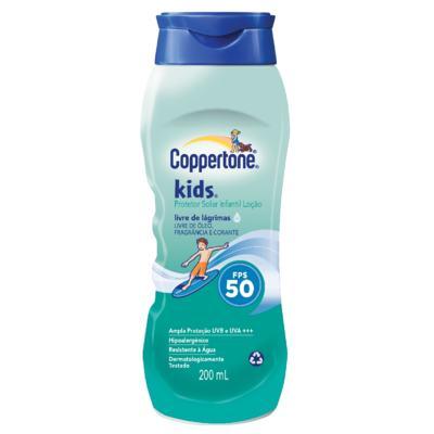 Imagem 1 do produto Protetor Solar Coppertone Kids FPS 50 200ml