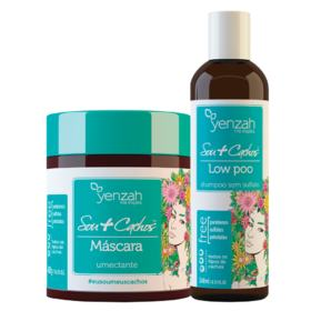 Yenzah Sou + Cachos Kit - Shampoo  + Máscara - Kit