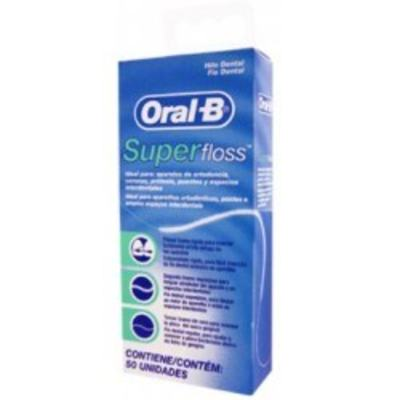 Fio Dental Oral-B Super Floss - 50m