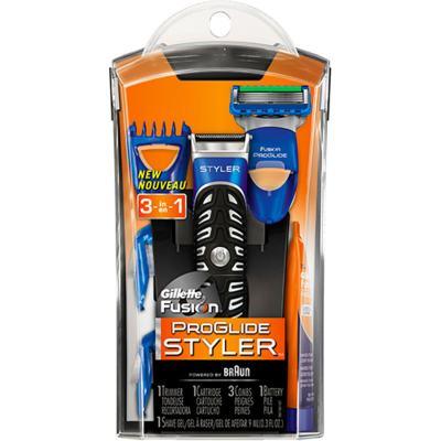 Imagem 2 do produto Kit Gillette Aparelho de Barbear Styler + Espuma de Barbear Séries Pureza e Suavidade 245g