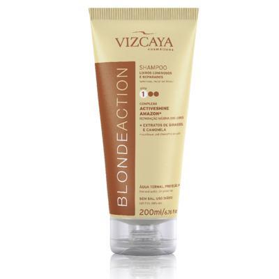 Imagem 1 do produto Shampoo Vizcaya Blonde Action 200ml