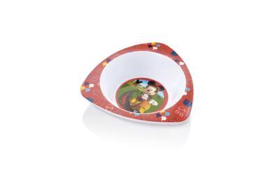 Imagem 1 do produto Prato Fundo Triangular para Microondas Mickey Multikids Baby - BB094