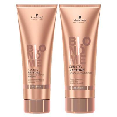 Schwarzkopf  Schwarzkopf Professional BC Blond Me All Blondes Kit - Shampoo +  Condicionador - Kit