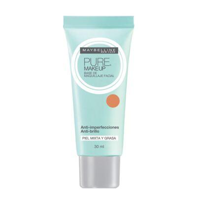 Imagem 1 do produto Pure Makeup Maybelline - Base Facial - Beige Médio