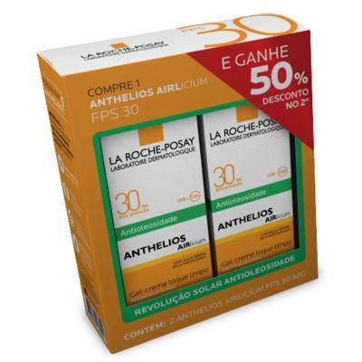 Kit Anthelios Airlicium FPS 30 La Roche-Posay - Protetor Solar - 2x 50g