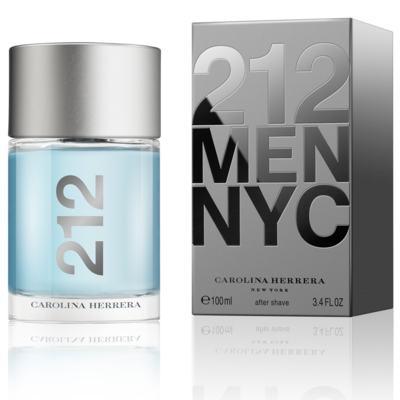 Imagem 1 do produto 212 Men After Shave Masculino de Carolina Herrera - 100 ml