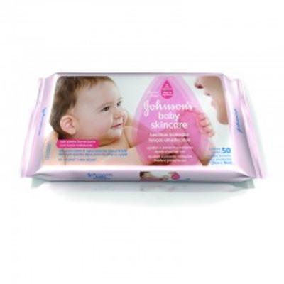 Imagem 1 do produto Toalhas Umedecidas Johnsons Baby Extra Cuidado 48 Unidades -