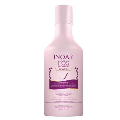 Imagem 2 do produto Kit Shampoo + Condicionador + Leave In Inoar Pós Progress - Kit