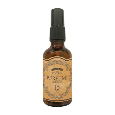 Imagem 1 do produto Perfume Retrô 15 Feminino Floral Frutal EleganteCom Patchuli
