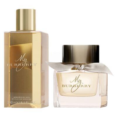 Imagem 2 do produto My Burberry Burberry - Feminino - Eau de Toilette - Perfume + Óleo de Banho - Kit