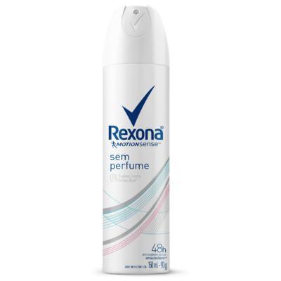 Desodorante Aerosol Rexona Feminino Sem Perfume 90g
