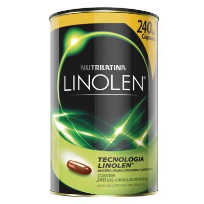 Linolen Nutrilatina - Redutor de Medidas - 240 Gel-Cáps