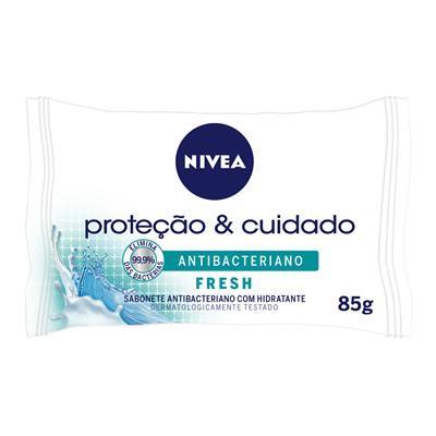 Imagem 1 do produto Sabonete Nivea Antibacteriano Fresh 85g -