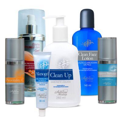 Imagem 1 do produto Kit Tratamento Fechamento de Poros - 6 produtos