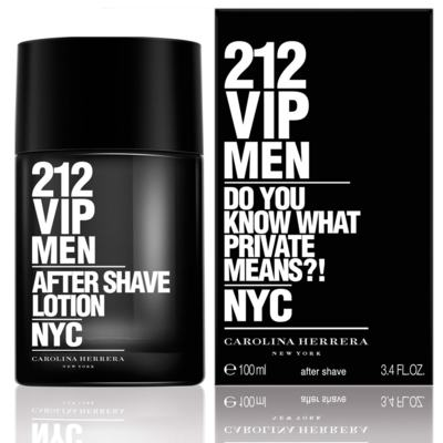 212 Vip Men After Shave Masculino de Carolina Herrera - 100ml
