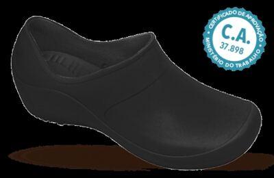 Sapato Profissional Feminino Mary Preto Boa Onda - 36