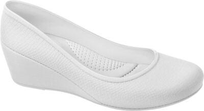 Sapato Profissional Feminino Caren Branco Boa Onda - 33
