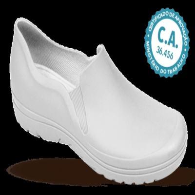 Imagem 1 do produto Sapato Profissional Masculino Enzo Branco Boa Onda - 39