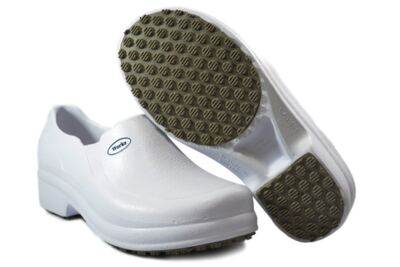 Imagem 2 do produto Sapato Profissional Babuch BB65 Branco Soft Works - 38
